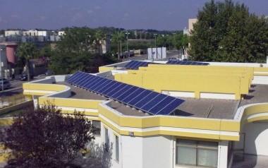 Fotovoltaico Scuola Monteroni